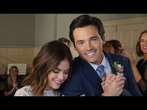 Lucy Hale REUNITES With Ian Harding & PLL  Are FREAKING Out
