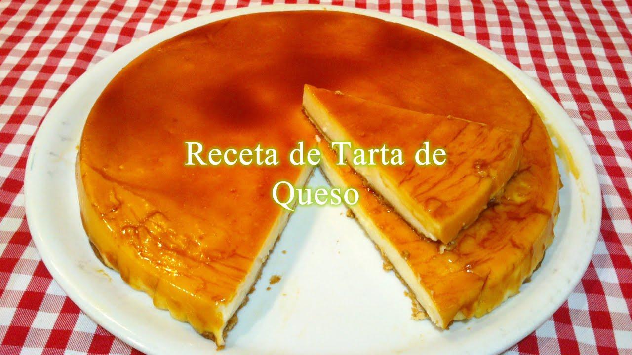 como preparar una torta de queso