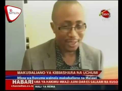 Ruvuma Yaingia Makubaliano Ya Kibiashara Na Malawi
