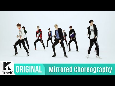 [Mirrored] SF9(에스에프나인)_  Fanfare Choreography(팡파레 거울모드 안무영상)_1theK Dance Cover Contest