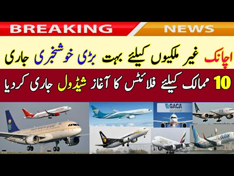 Breaking Good News Saudi Arab Resume For 10 Countries Today|Abha Airport Jeddah Riyadh All Airports