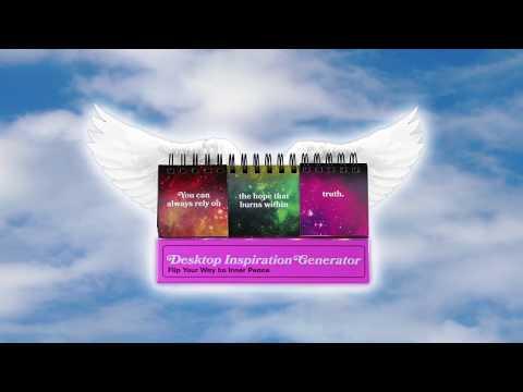 Desktop Inspiration Generator by Suzi Barrett