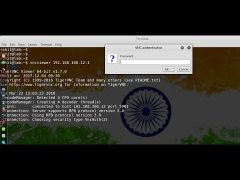 How to configure Remote Desktop (Tigervnc Server) in Centos/Redhat 7