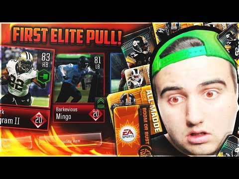 FIRST ELITE PULLS in MADDEN OVERDRIVE!? 5+ CRAZY PULLS! - MADDEN OVERDRIVE VARIETY PACKS