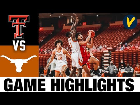 #15 Texas Tech vs #4 Texas Highlights   2021 College Basketball Highlights