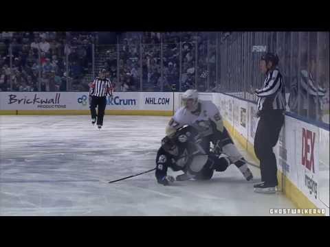 Steve Downie's Cheap Shot On Sidney Crosby (3-14-2010)