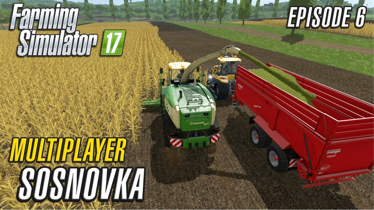 Let\'s Play Multiplayer Farming Simulator 2017 | Sosnovka | Episode 6 ...