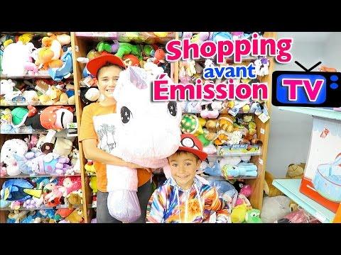 VLOG - Shopping Jouets avant émission TV