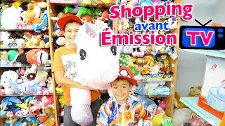 VLOG - Shopping Jouets avant émission TV