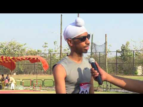 T12 Men's 100m - with Interview 18th National Para Athletics