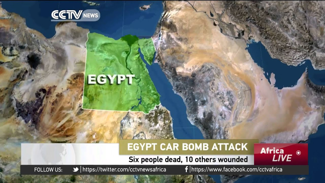 Car bomb in Egypt's El Arish leaves 6 people dead, 10 others wounded