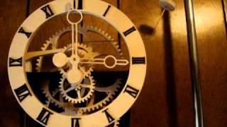 Wood Gear Clock (simplicity) Designed By Clayton Boyer