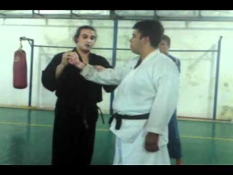 curso de defesa pessoal com antonio vidal
