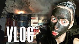 VLOG: пожар в Атолле, новая швабра, черная глина