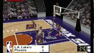 Kobe Bryant in NBA Courtside - Gameplay - Nintendo 64
