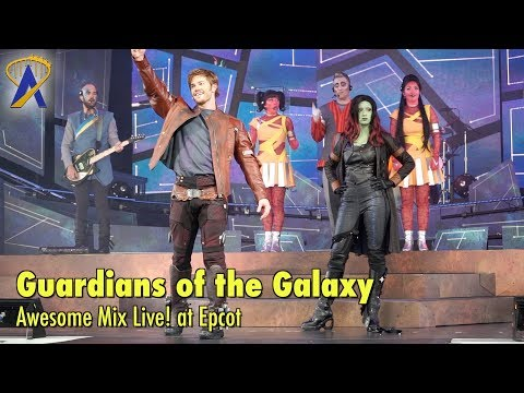 Guardians of the Galaxy: Awesome Mix Live! - Full Show at Epcot
