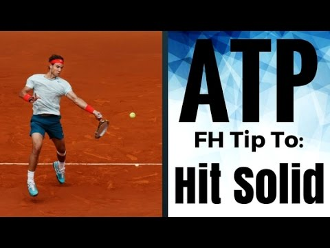 How To Center The Forehand: The One Tip ATP Pros Use To Hit Solid
