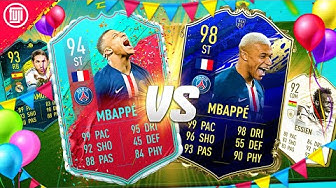 THE FRENCH R9?!? FUT BIRTHDAY MBAPPE vs TOTY MBAPPE!!! - FIFA 20 Ultimate Team