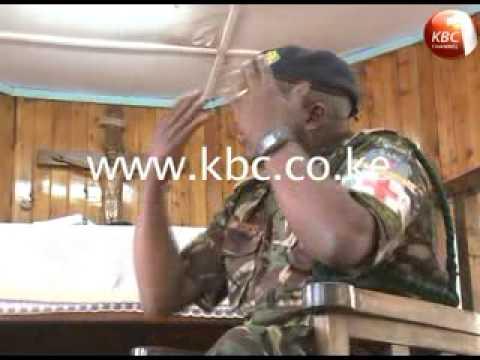 KDF Chaplain on war front in Somalia