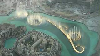 Fountains Lake Dubai from