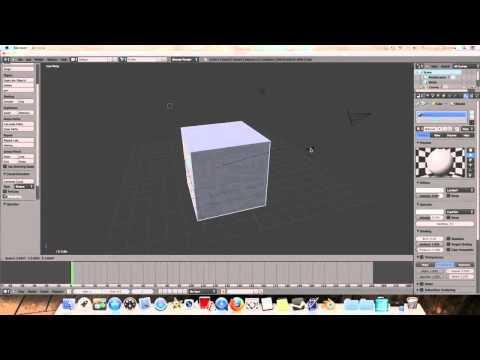 Blender 2.6 Beginner Tutorial: The Basics