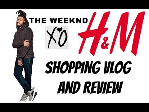 H&M x The Weeknd Spring Icons Collection VLOG and Review