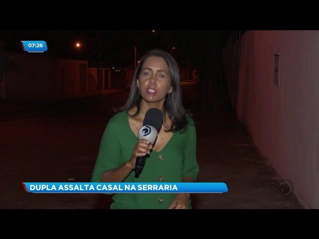 Um casal foi assaltado no Conjunto José Tenório, na Serraria