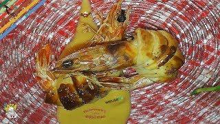 266 - Mazzancolle in crosta...deliziosa proposta! (antipasto di pesce semplice veloce e leggero)