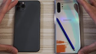 iPhone 11 Pro Max vs Samsung Note 10 Plus - Speed Test! Which is BEAST?!