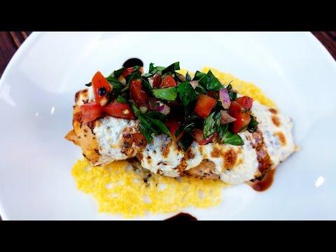Bruschetta Chicken Recipe with Parmesan Crisps - What's For Din'? - Courtney Budzyn - Recipe 98
