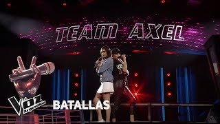 Amorina Alday vs Camila Canziani - Princesa - Tini  - Battles - La Voz Argentina 2018 YouTube Videos