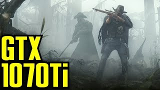 Hunt Showdown v0.128 Early Access GTX 1070 Ti & i7 6700k | 1080p Maxed Out | FRAME-RATE TEST