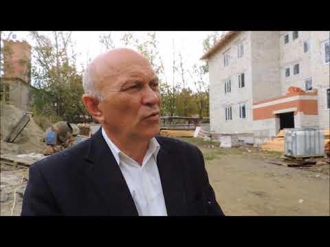 Строительство нового дома для врачей и на продажу г  н Ломов Пензенска обл 2019г