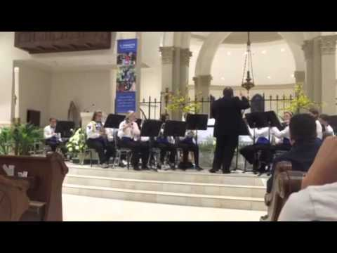 Alleluia by the St. Anastasia Royal Ram Band