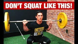 Stop Squatting Like This (AWFUL!!)