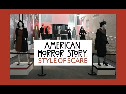 American Horror Story Costume Exhibit At Paley Center Beverly Hills 2017