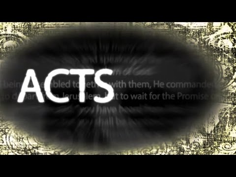 Hearing God Speak: Acts (part 3) - Beginning of the Church