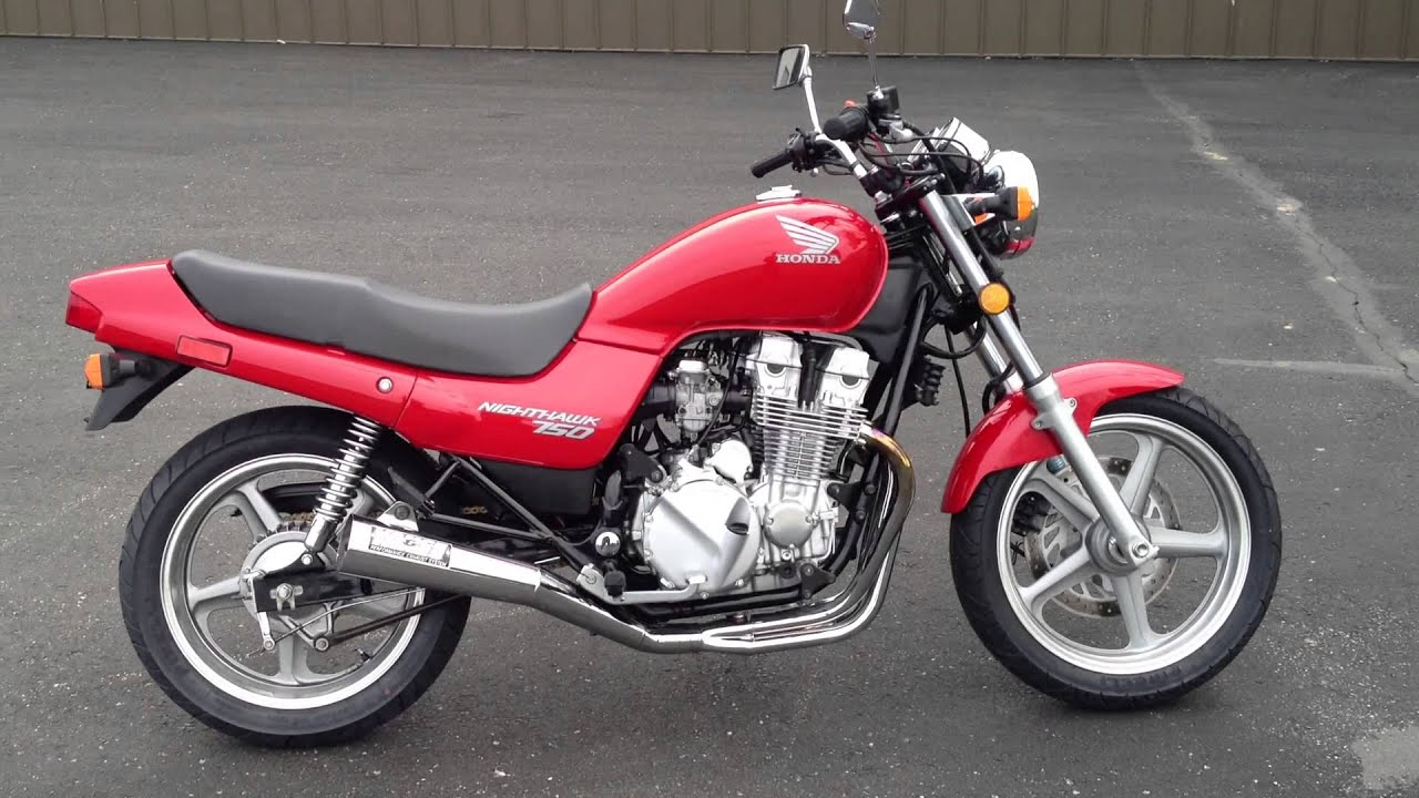 Vintage 1995 Honda CB750 Nighthawk 750 - YouTube