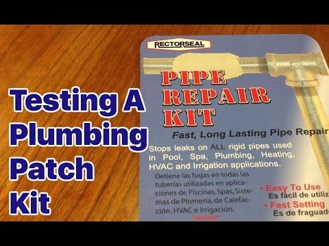 Emergency Plumbing Repair Kit- Rectorseal Pipe Repair Kit Review