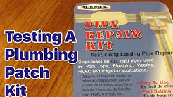 Emergency Plumbing Repair Kit- Rectorseal Pipe Repair Kit Review