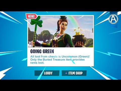 "NEW ""GOING GREEN"" LTM Gameplay! (Fortnite Battle Royale LIVE) thumbnail"