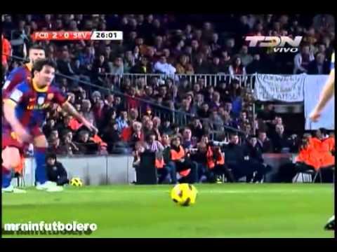 FC Barcelona vs Sevilla 5-0 - La Liga BBVA 2010 - Oct 30 2010