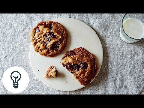 Ovenly's Secretly Vegan Salted Chocolate Chip Cookies | Genius Recipes