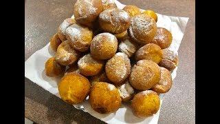 Пончики на сгущенке- быстрый и несложный рецепт, нежные, воздушные, хрустящие