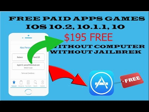 Download Paid Apps , Games for FREE from App Store iOS 10.2-10.1.1 iPhone , iPad (NO CRASHING)