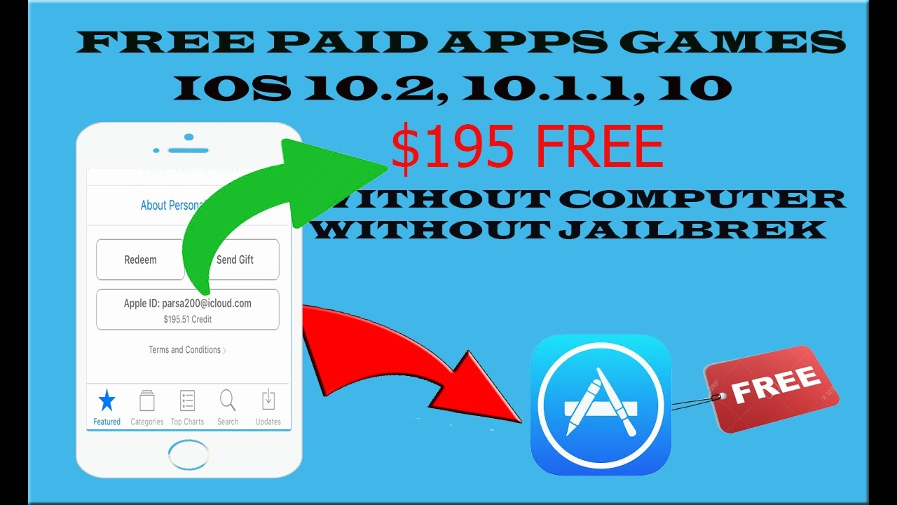 How to download paid & hacked apps free on ios 11 iphone x (new.