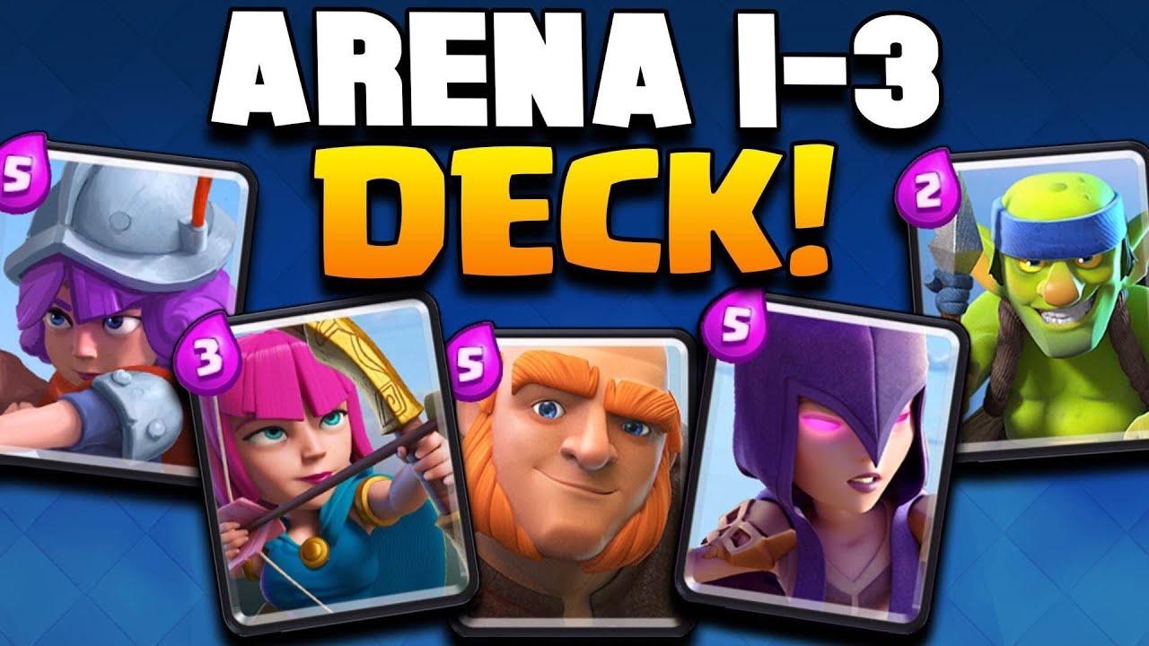 clash of clans best deck arena 2
