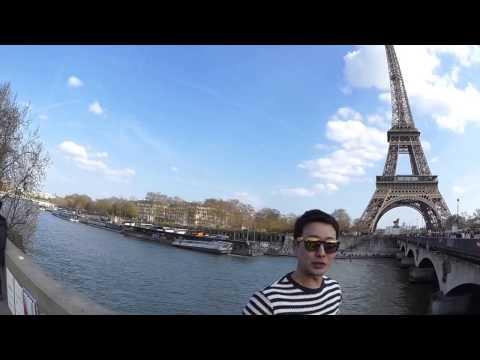 The Champ de Mars - Paris!