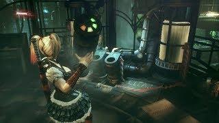 Batman: Arkham Knight - Harley Quinn inside ACE Chemicals (Char swap mod)