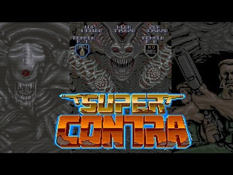 Super Contra for Arcades from Konami